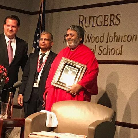 Joseph G Barone, MD, MBA Senior Associate Dean and President/CEO of RWJ Medical Group, Dr Hari and Dr Shivanand